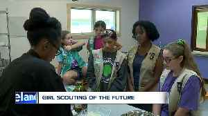 Girl Scouts get new program center at Camp Ledgewood in Peninsula [Video]