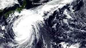 Tokyo scrambles to prepare for massive typhoon [Video]