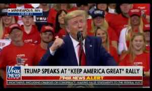 News video: President Donald Trump mocks Page and Strzok