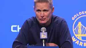 NBA coach Steve Kerr: US is no better than China on human rights abuses. [Video]
