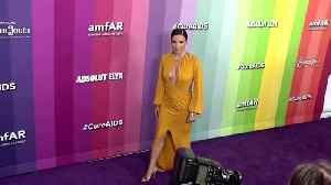 Gwyneth Paltrow honoured at the10th amfAR Gala in Los Angeles. [Video]