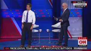 Black Trans Protesters Interrupt Pete Buttigieg at CNN LBGTQ Town Hall [Video]