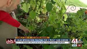Digging in: Man is challenging Blue Springs' ban on front yard vegetable gardens [Video]