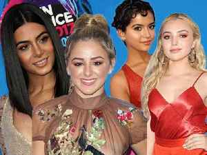Peyton List Interviews Friends at TCAs [Video]