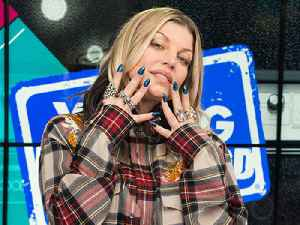 Fergie Plays Fergalicious Captions With Celebrity Photos [Video]