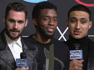 Chadwick Boseman, Kevin Love, & More Reveal Their NBA All-Star Picks [Video]