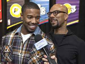 What Michael B. Jordan, Common, & More Brought to the NBA All-Star Celeb Game [Video]