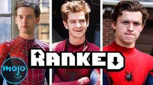 Every Spider-Man Movie Ranked from Worst to Best [Video]