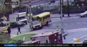 New Video Of Newark School Bus Crash [Video]