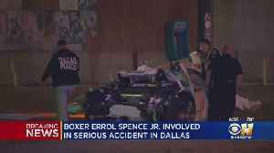 Sources: Ferrari Driver Injured In Dallas Crash Is DeSoto Boxer Errol Spence Jr. [Video]