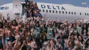120 Girls Visit NASA Thanks to Delta [Video]