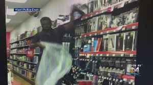 Beauty Supply Thief Caught On Camera [Video]