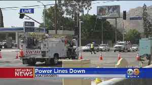 News video: Thousands Of Edison Customers Without Power Due To Safety Shutoffs; LADWP Says No Shutoffs Planned