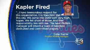 Phillies Fire Manager Gabe Kapler After 2 Seasons [Video]