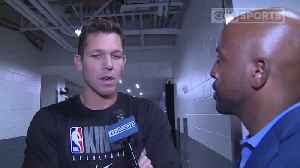 Luke Walton, Dewayne Dedmon Talk With CBS13 Before Preseason Game At G1C [Video]