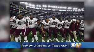 News video: Texas A&M vs. Alabama Preview