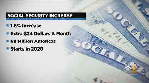 News video: Social Security Recipients Getting Increases