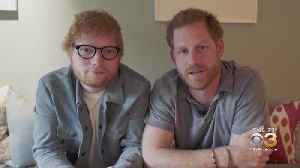 Ed Sheeran, Prince Harry Promote World Mental Health Day [Video]