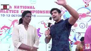 Golden Girl of Indian Athletics Graces 59th National Open Athletics Championship [Video]
