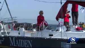 Yacht with a proud history and enduring mission sails into Monterey Bay [Video]