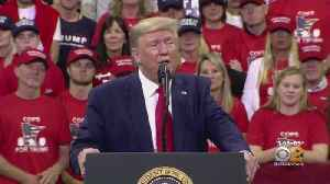 President Trump Holds Fiery Rally In Minnesota [Video]
