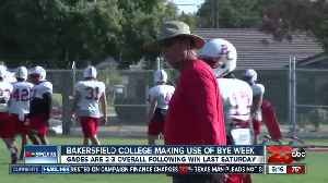 News video: Renegade football team making use of the bye week