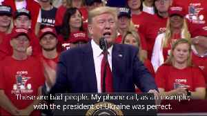 News video: Trump remains defiant in face of impeachment during Minneapolis rally