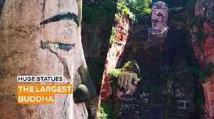 Huge Statues: The Leshan Giant Buddha [Video]