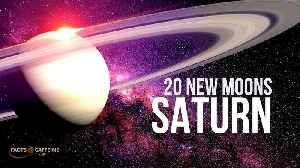 20 new moons around Saturn discovered by astronomers [Video]