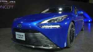 Taking on Tesla! Toyota Unveils New Hydrogen Fuel Cell Powered Car [Video]