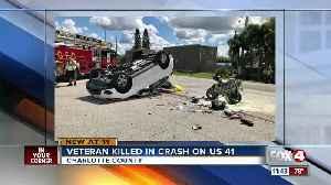 Air Force veteran killed in Port Charlotte crash Thursday [Video]