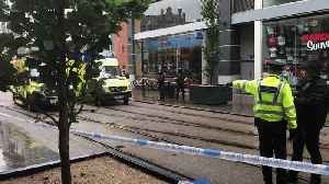 News video: Man arrested after several people stabbed in Manchester shopping centre