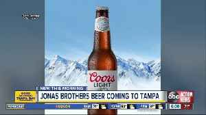 Limited-edition Jonas Brothers beer coming to Tampa stores [Video]