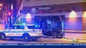Car Crashes Into Building After Shots Fired In Lincoln Square [Video]