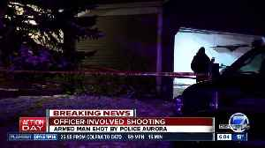 Aurora police shoot man as they investigate assault call [Video]