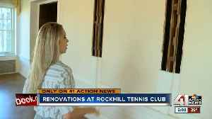 Only on 41: A look inside renovations to the old Rockhill Tennis Club [Video]