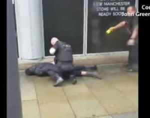 Knife attack at Manchester shopping mall [Video]