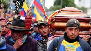 News video: Ecuador emergency: Protesters infuriated by killings