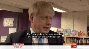 Boris Johnson Comment On UK-Ireland Brexit Talks [Video]