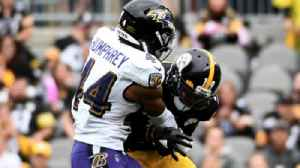 Ravens' Humphrey on his clutch forced fumble against the Steelers [Video]