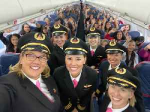 Delta Completes Fifth Annual All-Female Flight [Video]