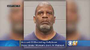 News video: Man Arrested For Recording Video Under Woman's Skirt At Grapevine Walmart
