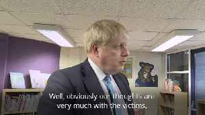 Boris Johnson on Manchester Arndale stabbings