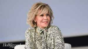 News video: Jane Fonda Arrested at Climate Change Strike in Washington D.C. | THR News