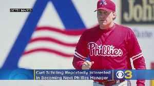 'I Know The City': Former Pitcher Curt Schilling Reportedly Interested In Becoming Next Phillies Manager [Video]