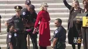 Jane Fonda Arrested Alongside Dozens Of Climate Change Demonstrators In DC [Video]