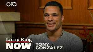 Tony Gonzalez on how he keeps the romance alive in his marriage [Video]