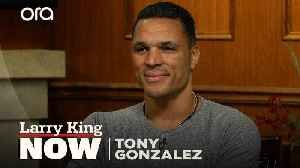 """I know people have stories to tell"": Tony Gonzalez on his new podcast 'Wide Open' [Video]"