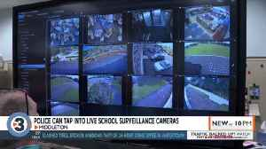 Schools working with police, allowing them to tap into live surveillance cameras during emergencies [Video]