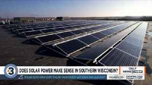 Does solar power make sense in Southern Wisconsin? [Video]